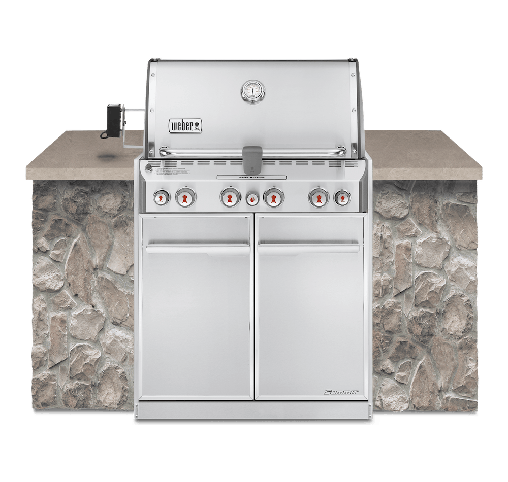 Asador de gas empotrable Summit® S-460 View
