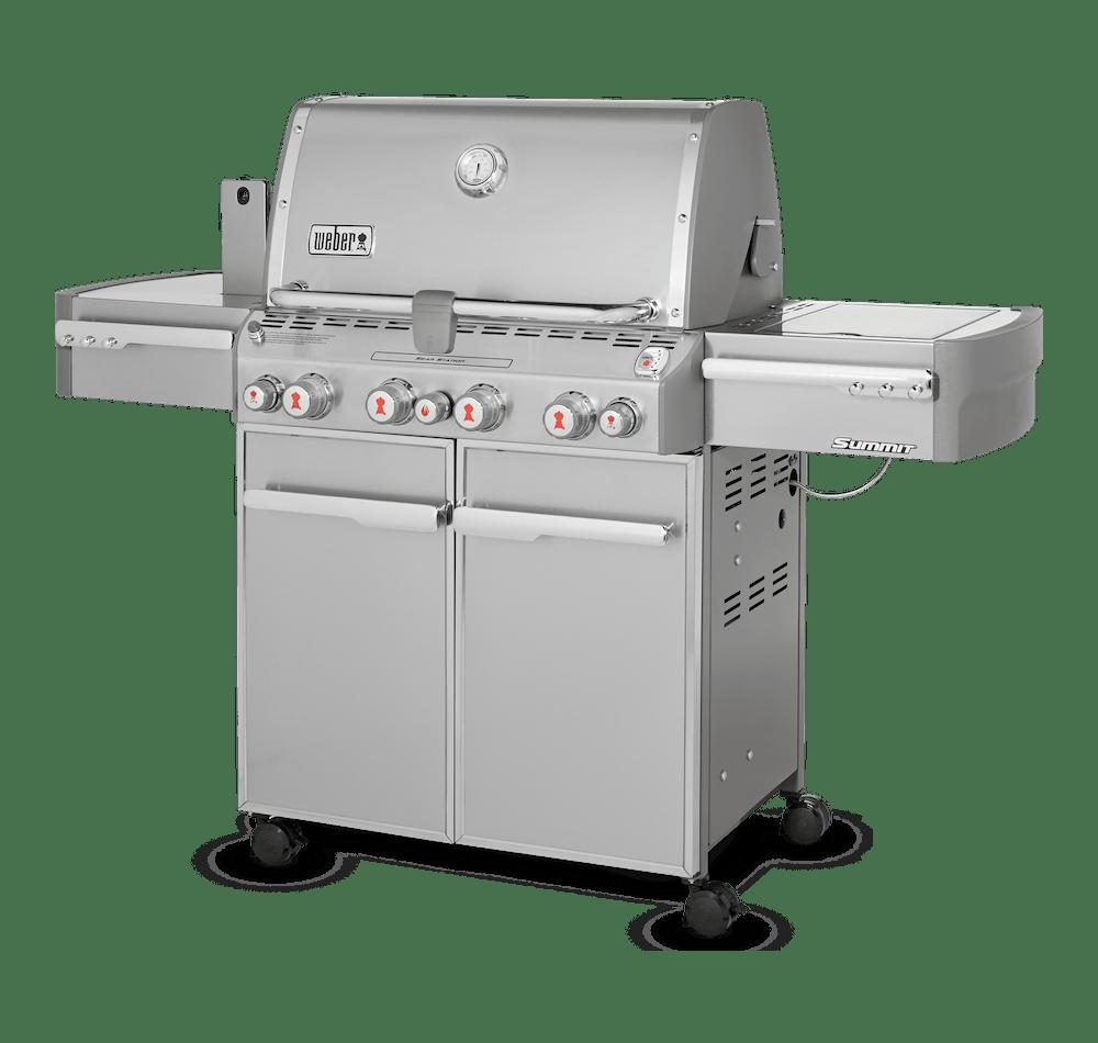Barbecue au gaz Summitᴹᴰ S-470 View