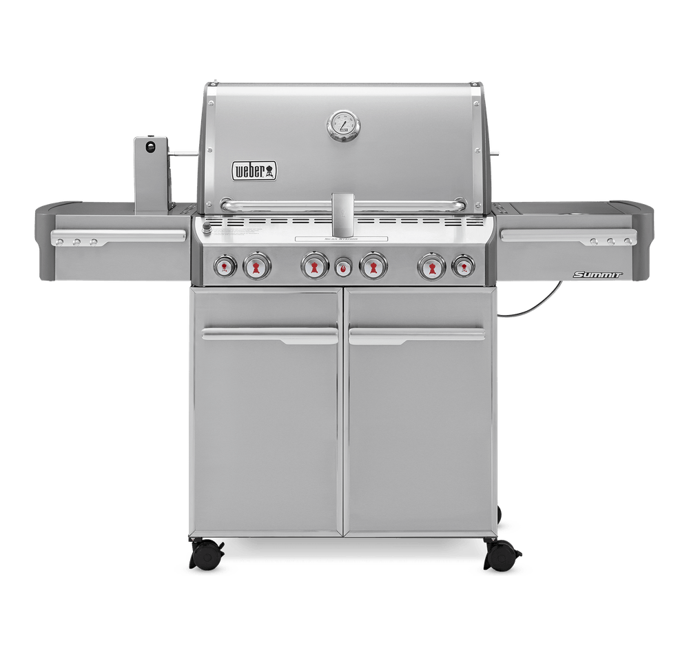Summit® S-470 Gas Barbecue (LPG) View