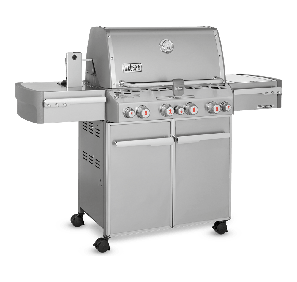 Summit® S-470 GBS Gas Barbecue View