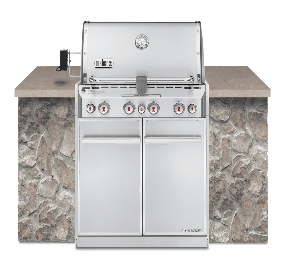 Summit® S-460 Built-In Gas Grill (Natural Gas) View