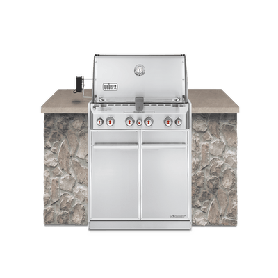 Summit® S-460 Built-In Gas Grill (Natural Gas)