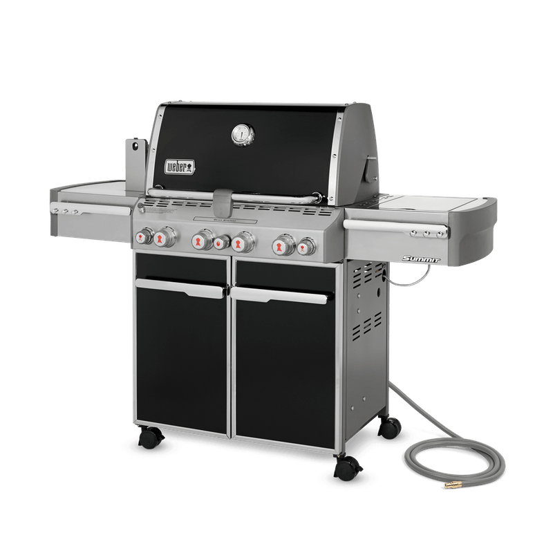 Summit® E-470 Gas Grill (Natural Gas) image number 1