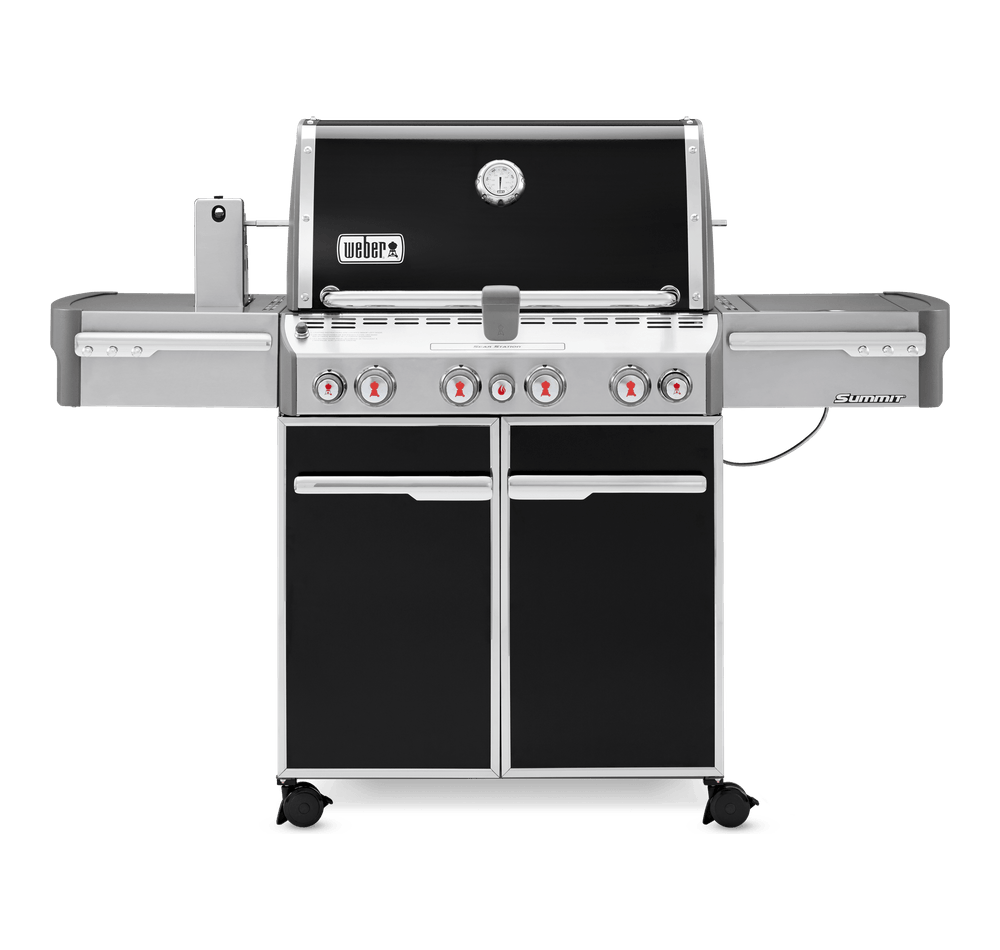 Summit® E-470 Gas Barbecue (Natural Gas) View