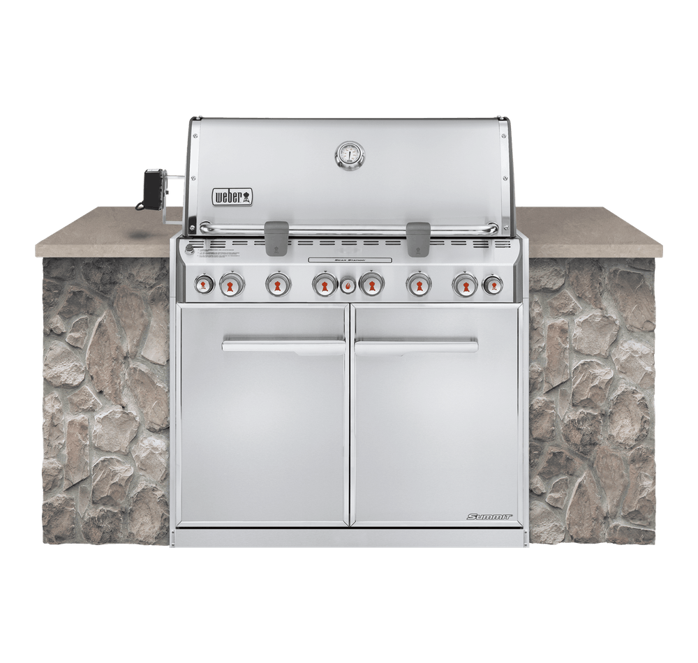 Asador de gas empotrable Summit® S-660 View