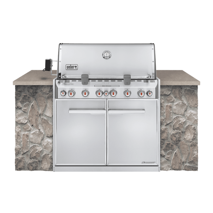 weber summit s 660 built in natural gas grill weber grills. Black Bedroom Furniture Sets. Home Design Ideas