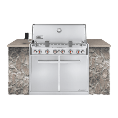 Summit® S-660 Built-In Gas Grill (Natural Gas)