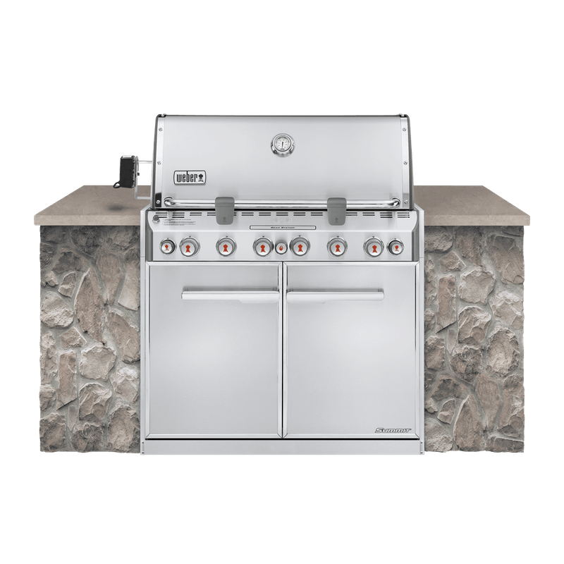 Summit® S-660 Built-In Gas Grill (Natural Gas) image number 0
