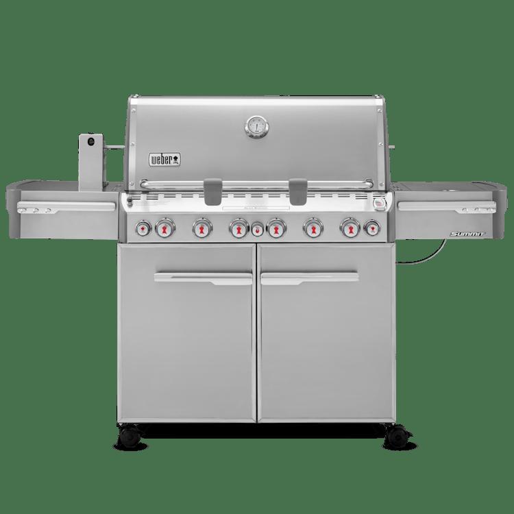 Weber summit s 670 gas grill weber grills for Weber gasgrill danemark