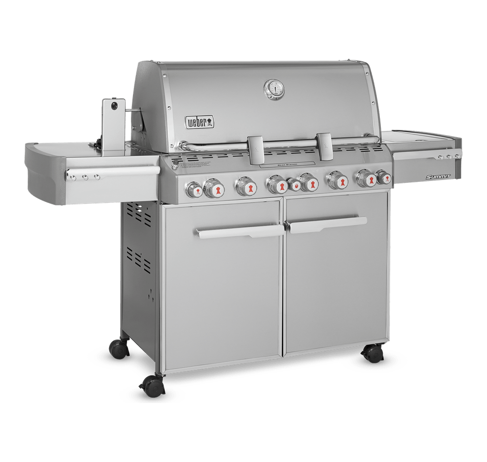 Summit® S-670 Gas Barbecue (Natural Gas) View