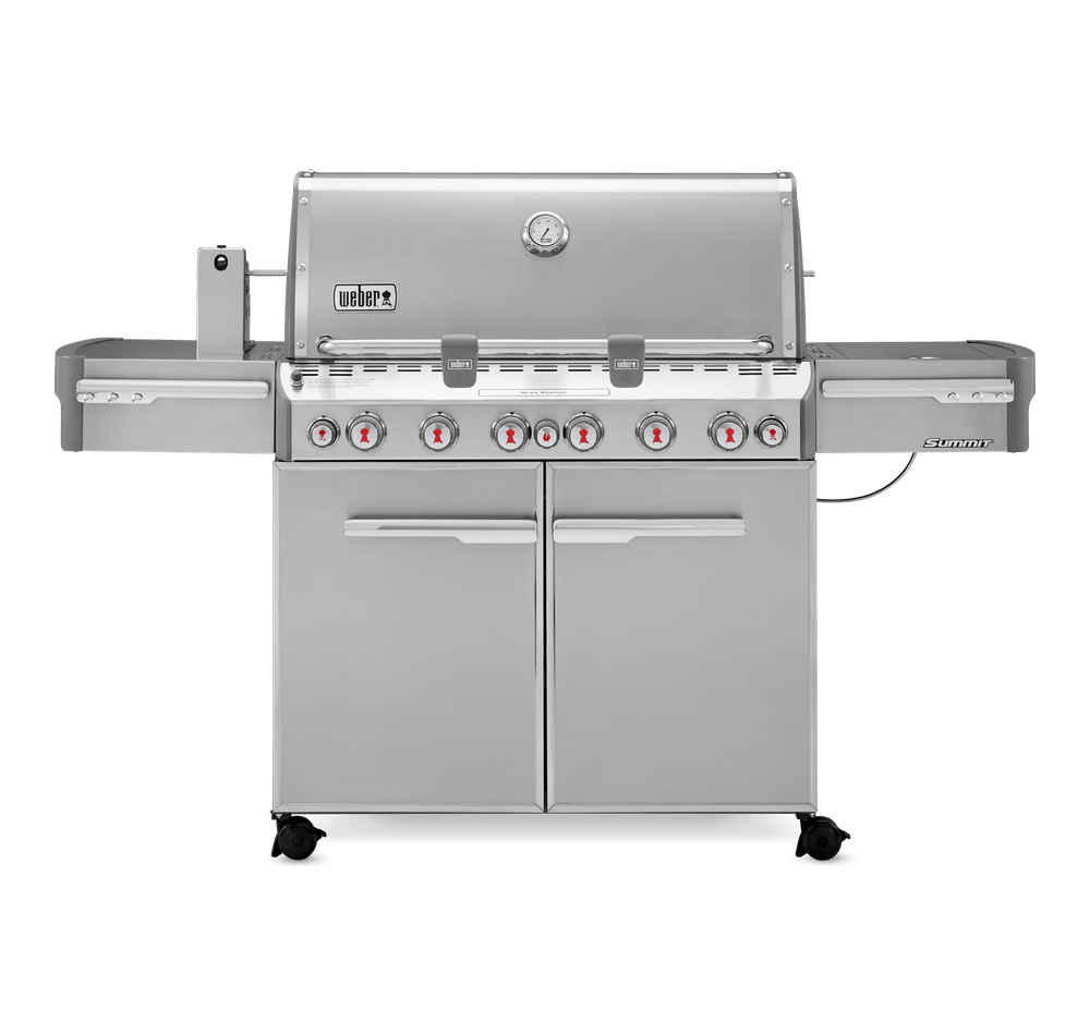 Summit® S-670 GBS Gasbarbecue View