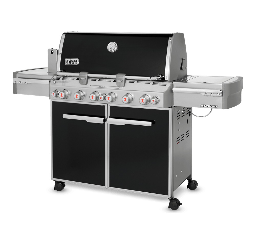 Summit® E-670 GBS Gasbarbecue View