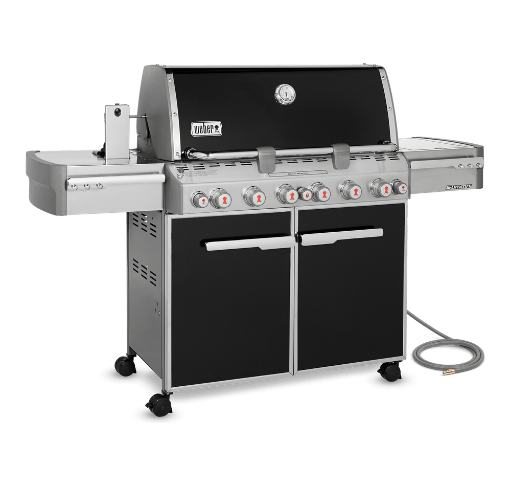 Summit® E-670 Gas Grill (Natural Gas) View