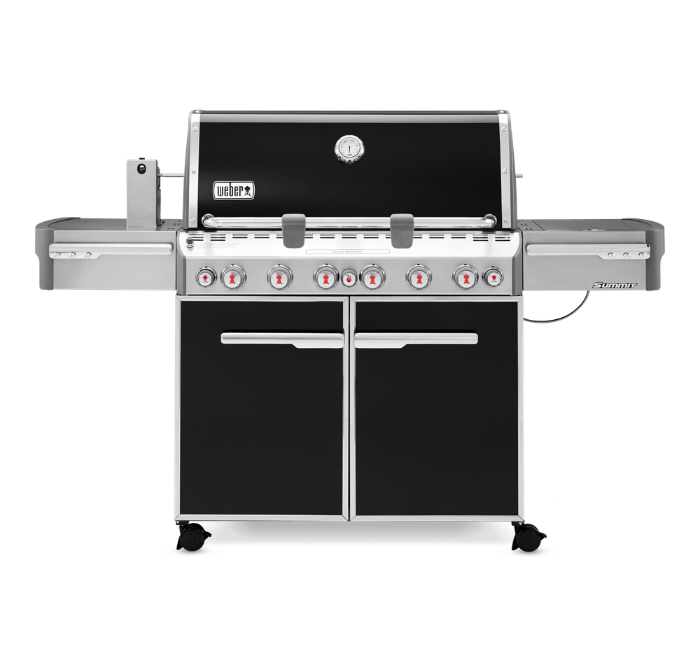 Weber Natural Gas Bbq.Summit E 670 Gas Barbecue Natural Gas Summit Series