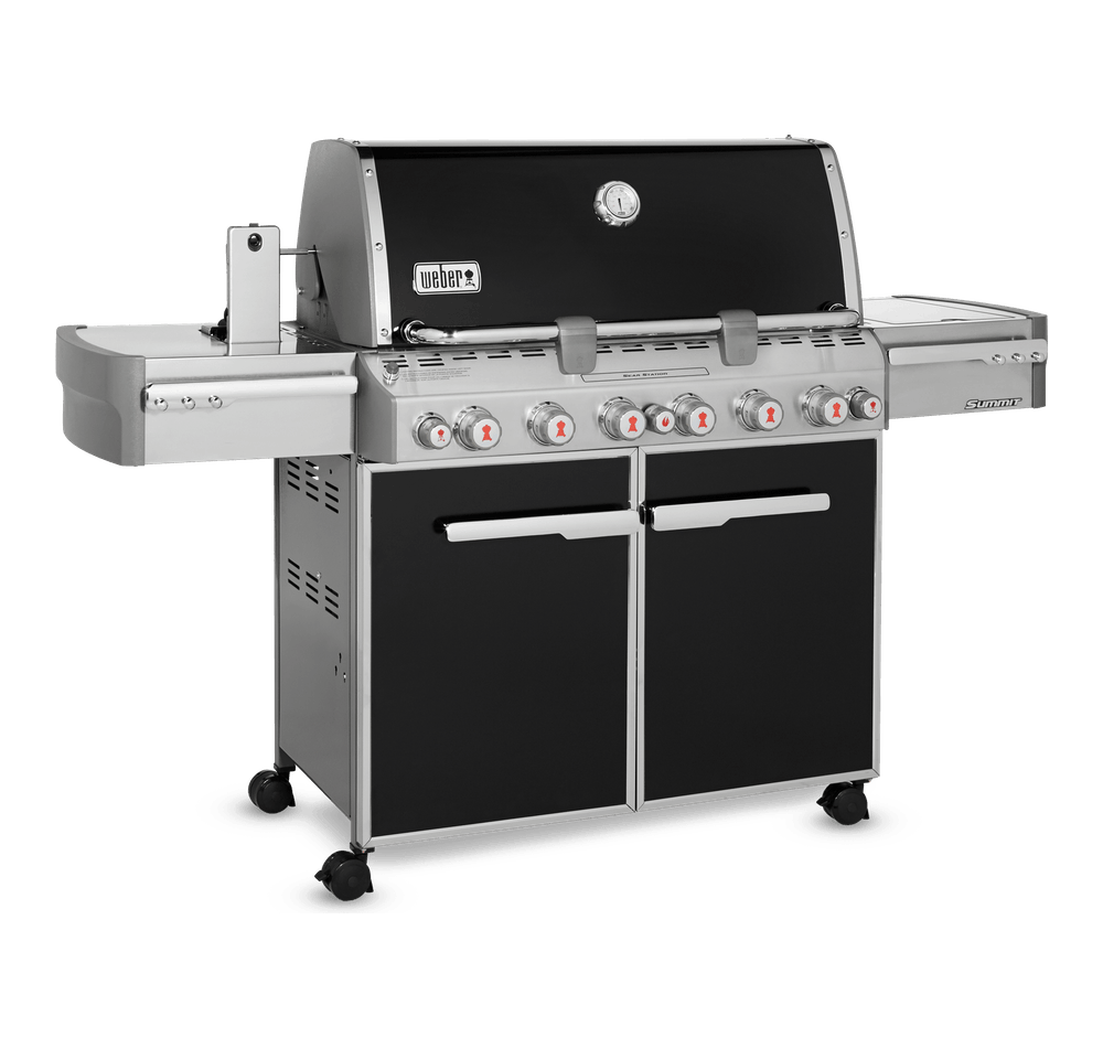 Summit® E-670 Gas Barbecue (Natural Gas) View
