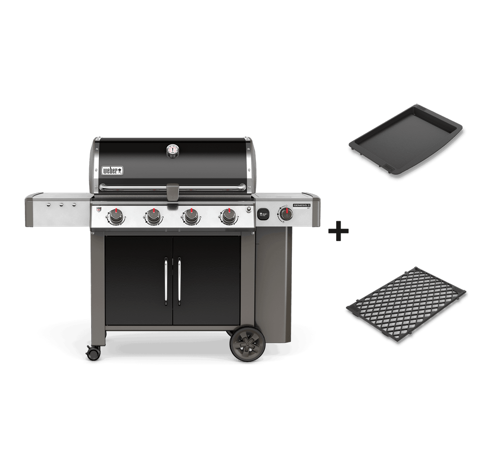 Genesis® II LX E-440 GBS Gasbarbecue View