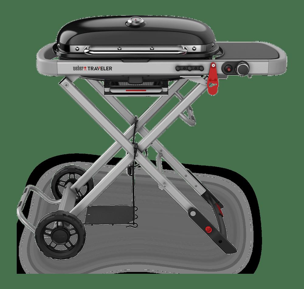 Weber Traveler Portable Gas Barbecue (LPG) View