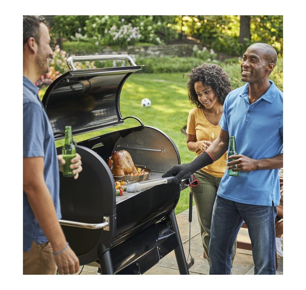Barbecue à granulés de bois SmokeFire EX6 (2e gén.) View