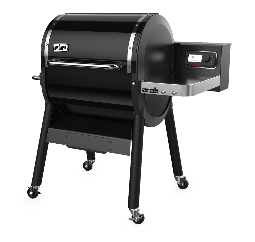 SmokeFire EX4 GBS Wood Fired Pellet Grill View