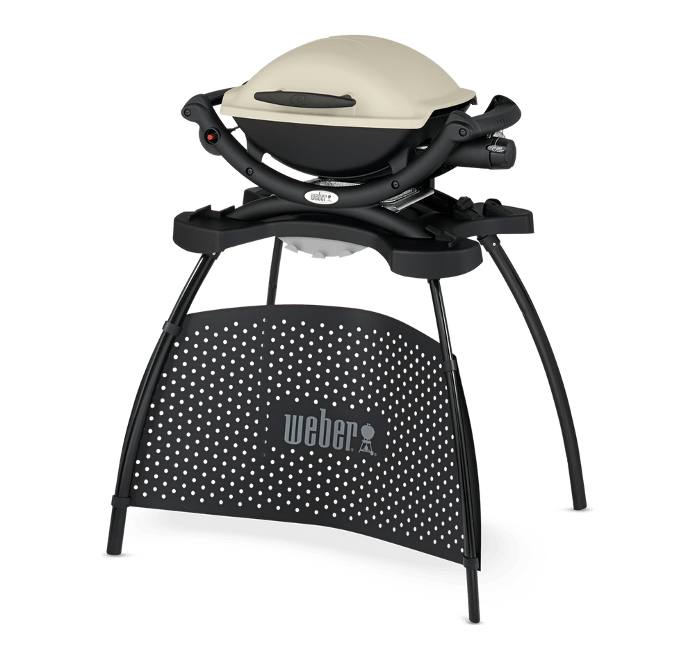 Weber® Q 1000 Gasbarbecue met stand View