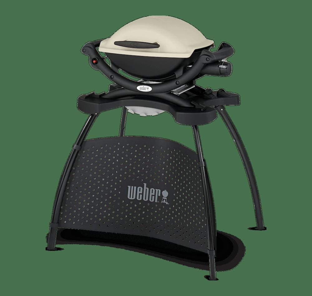 Weber® Q 1000 Gassgrill med stativ View