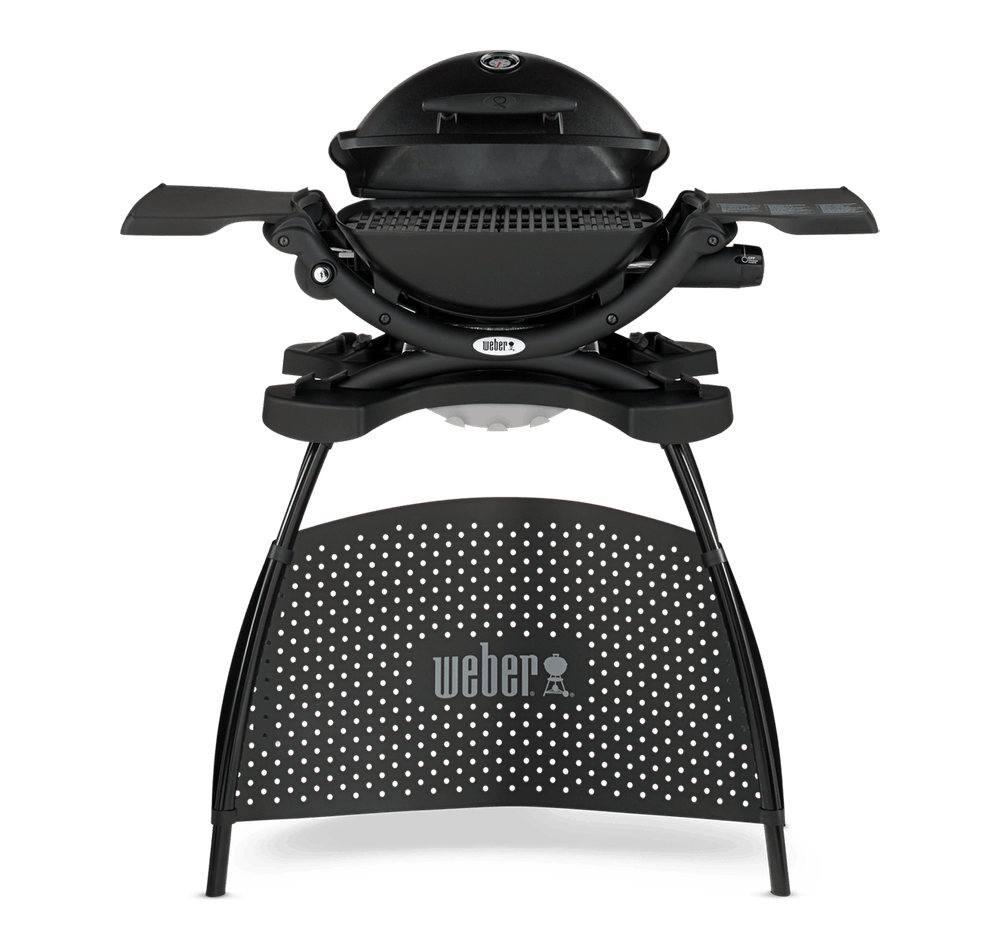 Barbecue a gas Weber® Q 1200 con stand View