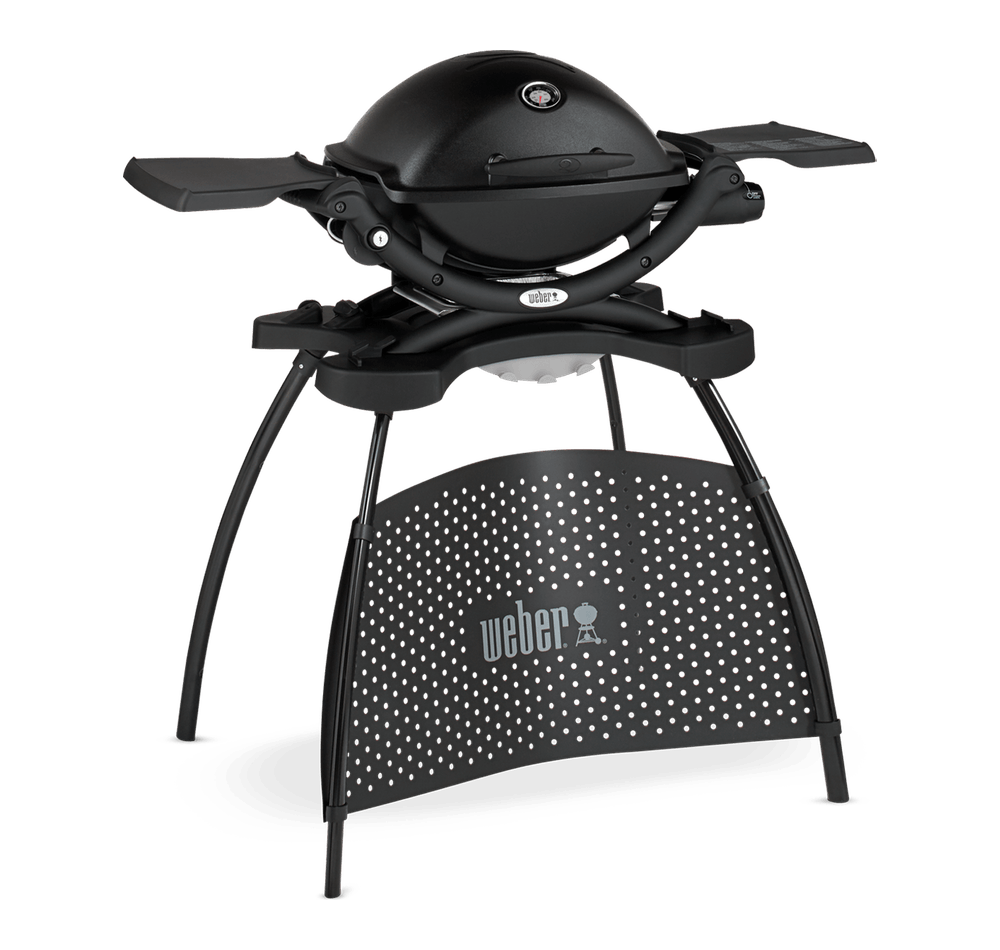 Weber® Q 1200 Gasgrill with Stand View