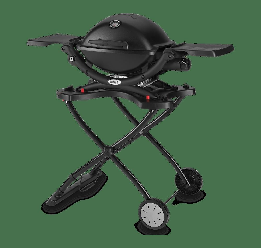 Weber® Q 1200 – Gasgrill mit tragbarem Rollwagen View