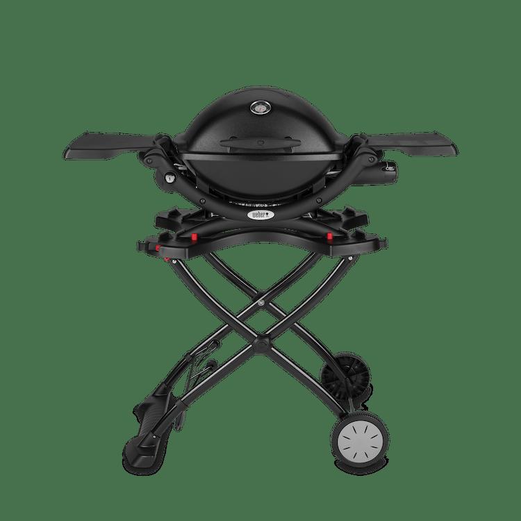 Weber® Q 1200 – Gasgrill mit tragbarem Rollwagen
