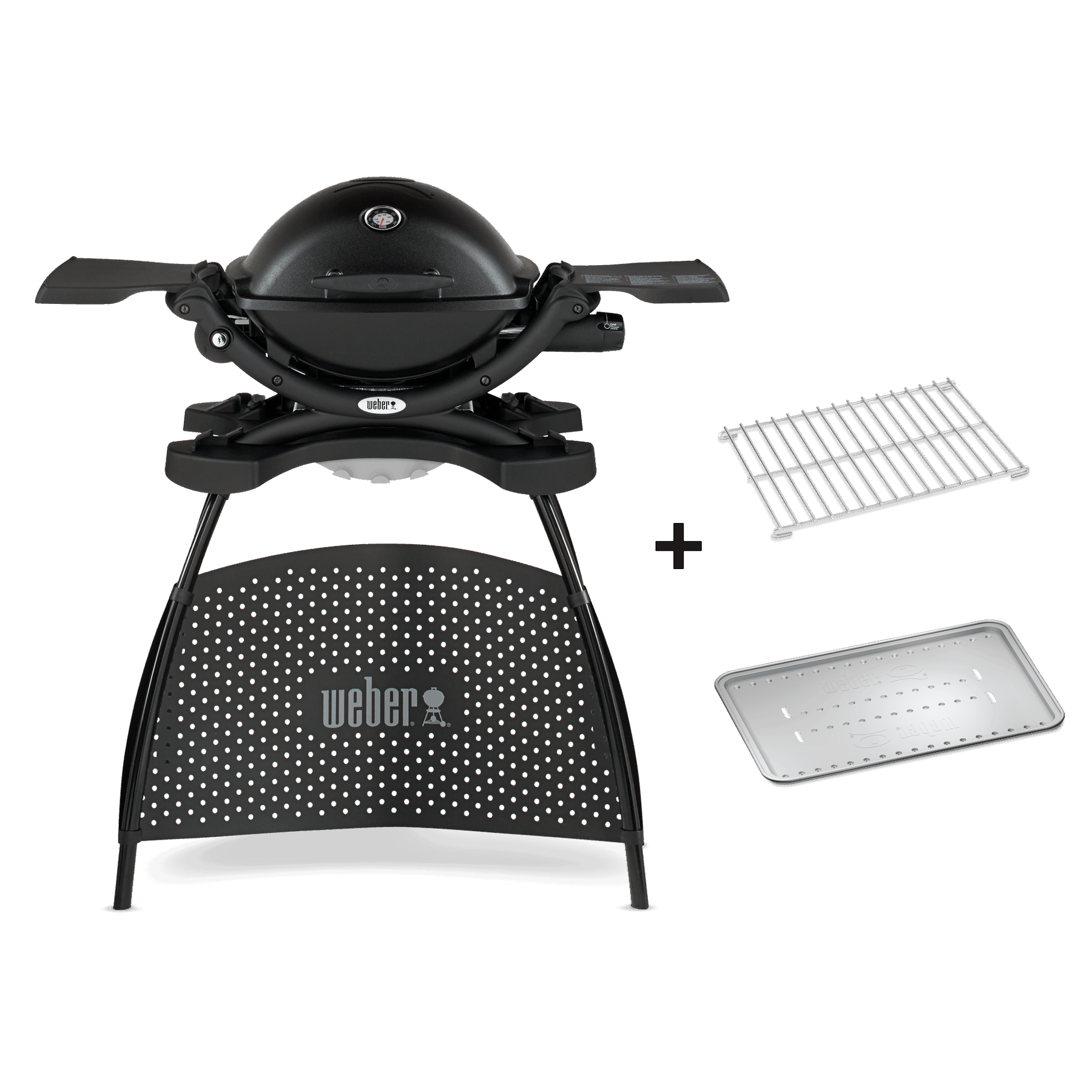 Barbecue a gas Weber® Q 1200 con stand