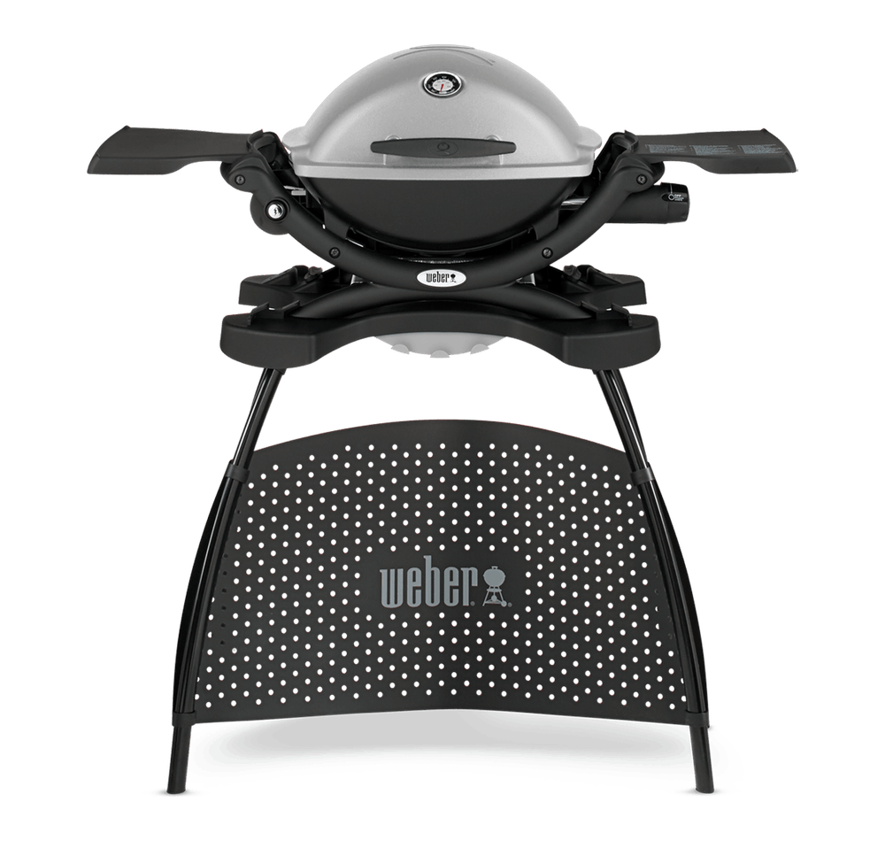 Weber® Q 1200 – Gasgrill mit Stand View