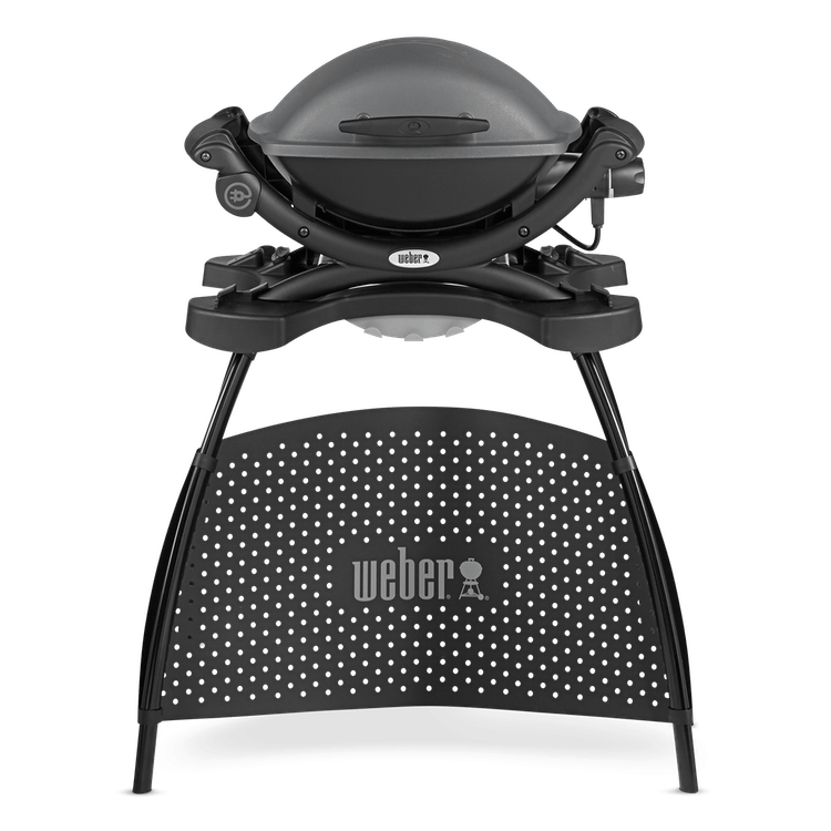 Weber 174 Q 1400 Electric Barbecue With Stand Official