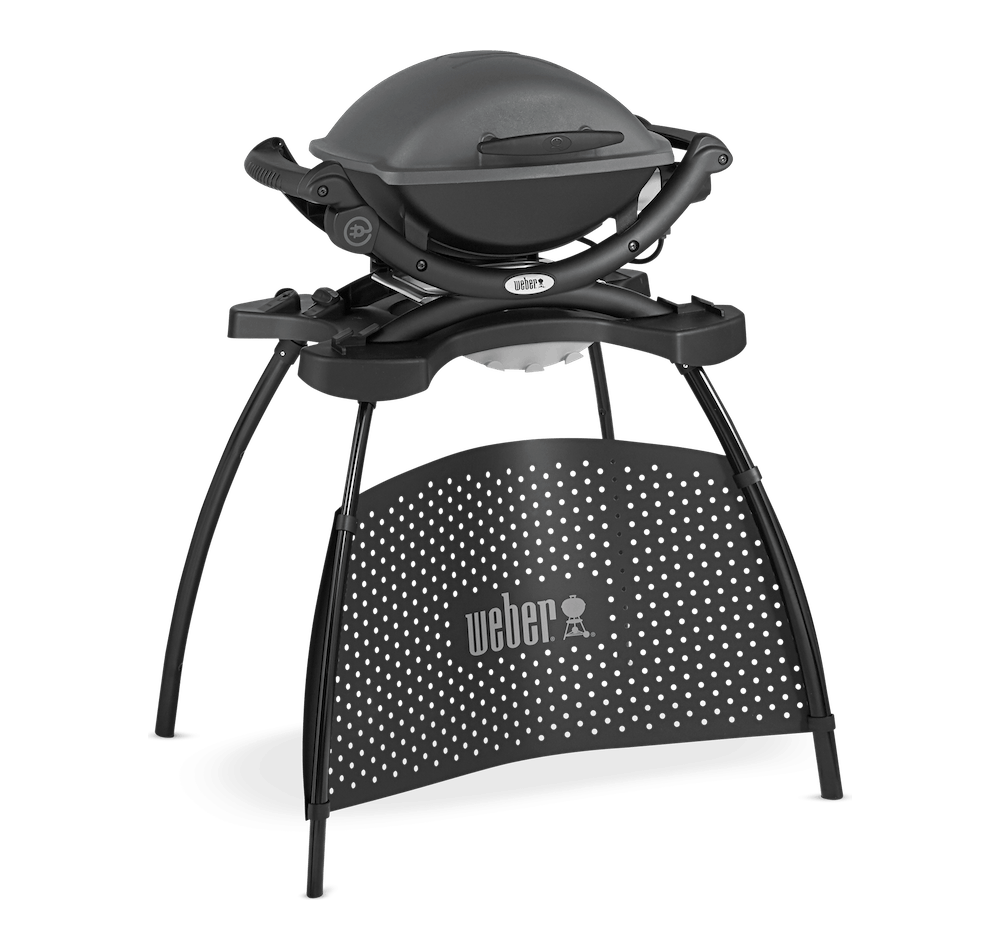 Weber® Q 1400 Electric Barbecue with Stand View