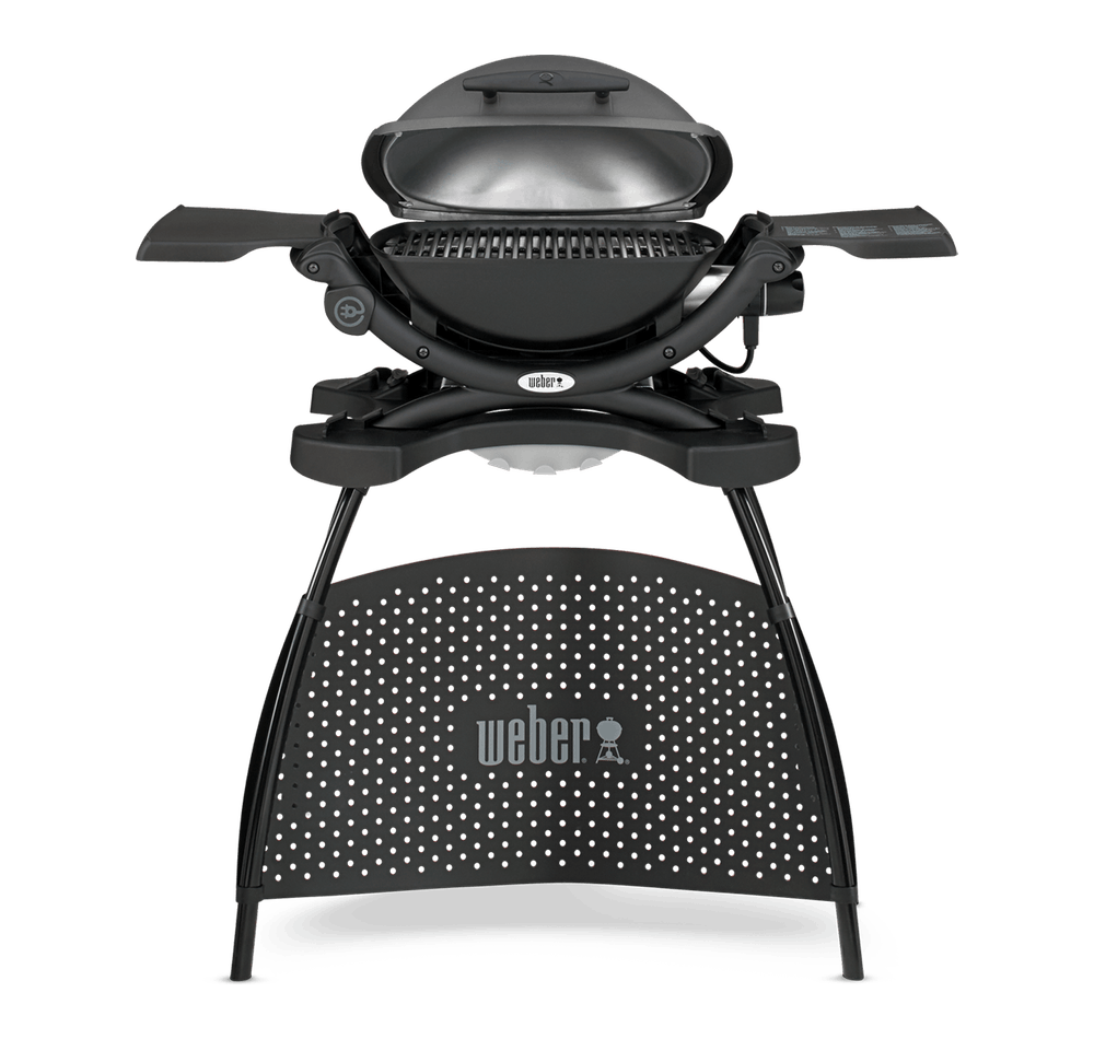 weber q 1400 elektrisk grill med stativ q serien. Black Bedroom Furniture Sets. Home Design Ideas