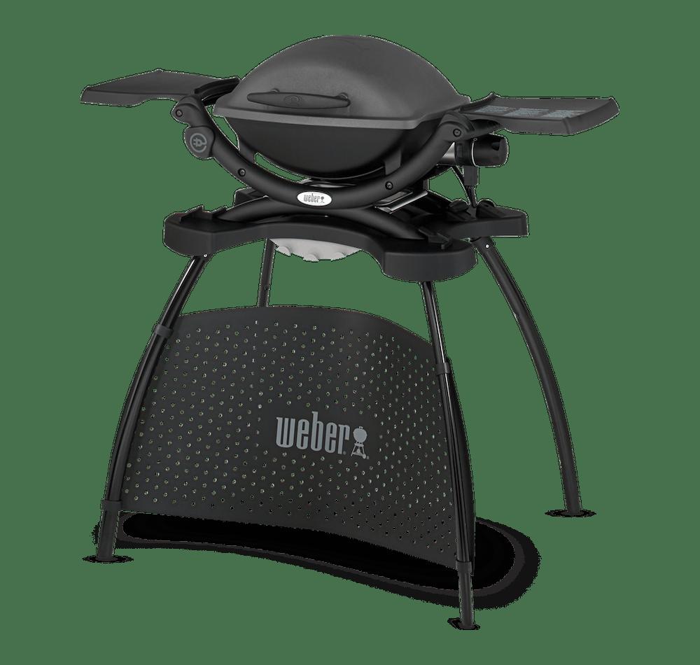Weber® Q 1400 – Elektrogrill mit Stand View