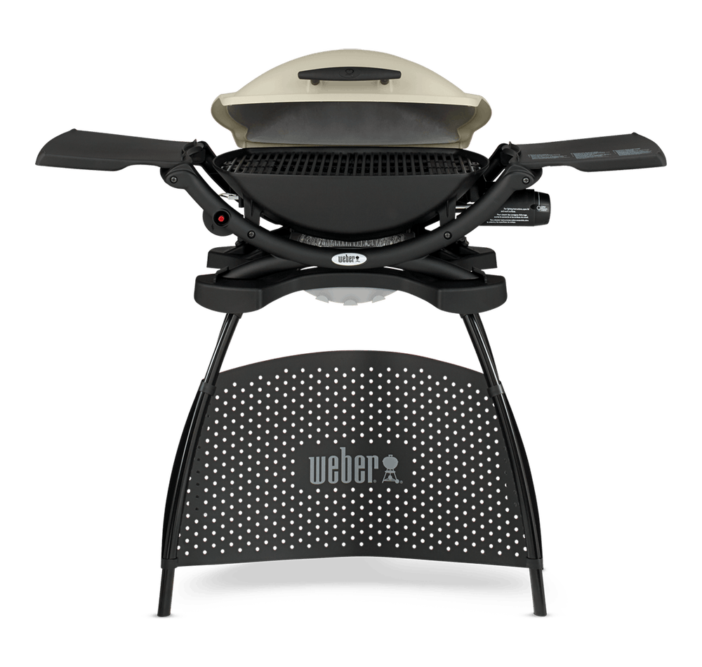 Weber® Q 2000 Gas Barbecue with Stand View