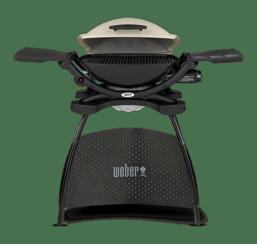 Weber® Q 2000 Gassgrill med stativ View