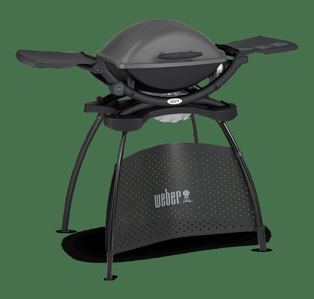 Weber® Q 2400 Sähkögrilli jalustalla View