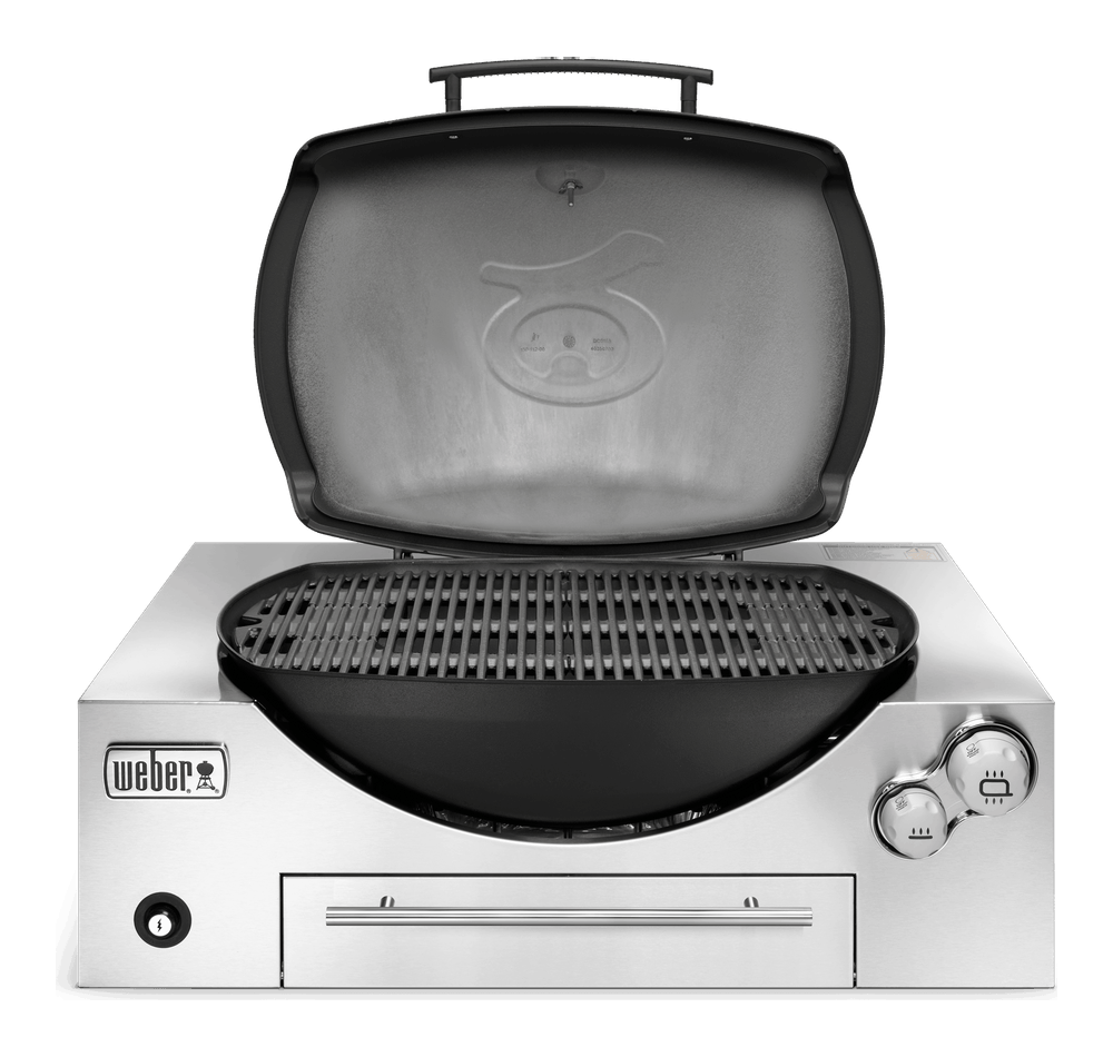 Weber® Family Q Built In Premium (Q3600) Gas Barbecue View
