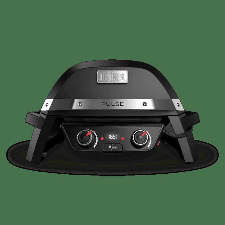 Weber Pulse 2000 elektrische barbecue met onderstel zwart
