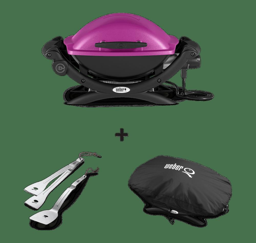 Weber® Q 1400 Elektrische barbecue View