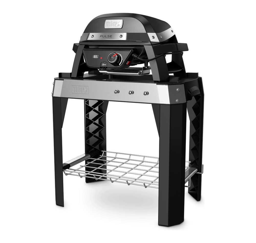 Pulse 1000 Elektrische barbecue met stand View