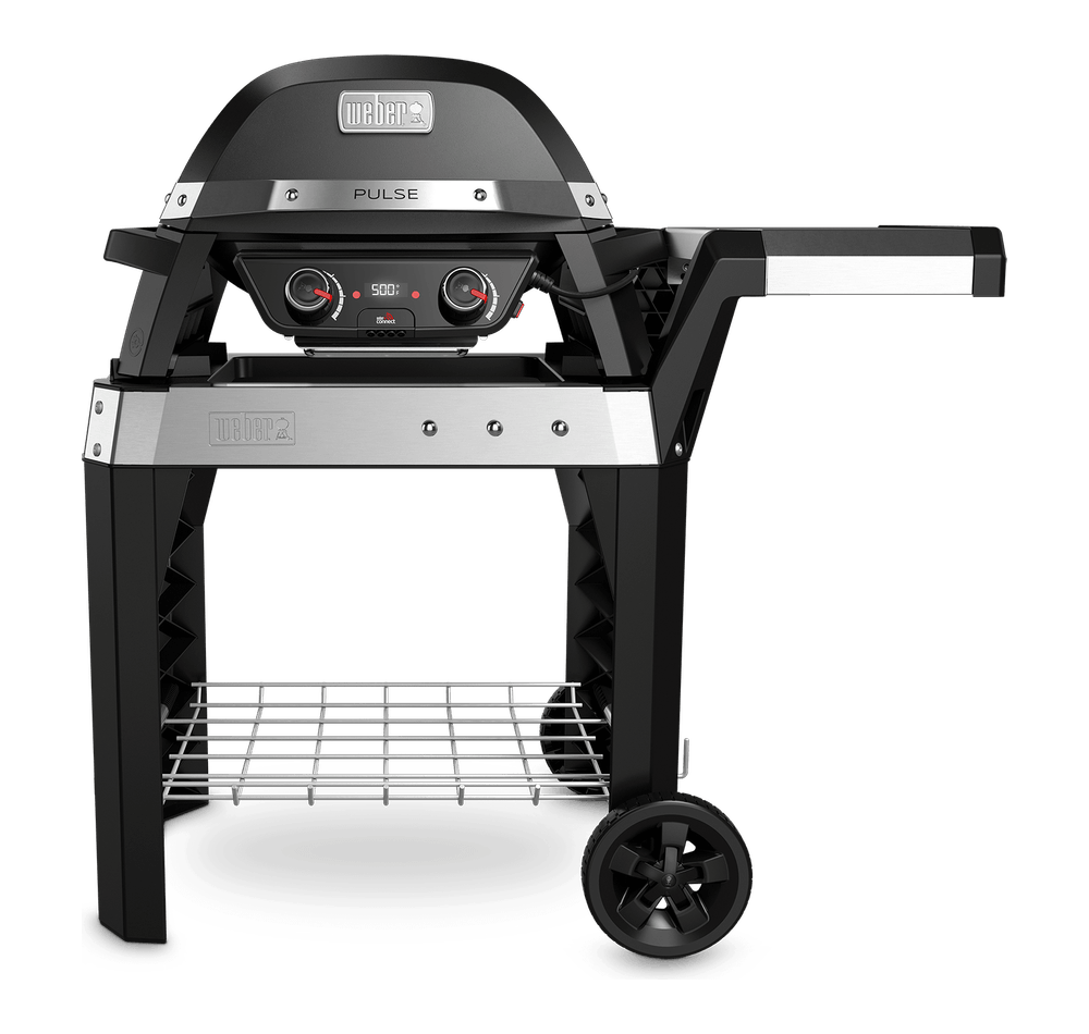 Pulse 2000 Electric Grill with Cart View