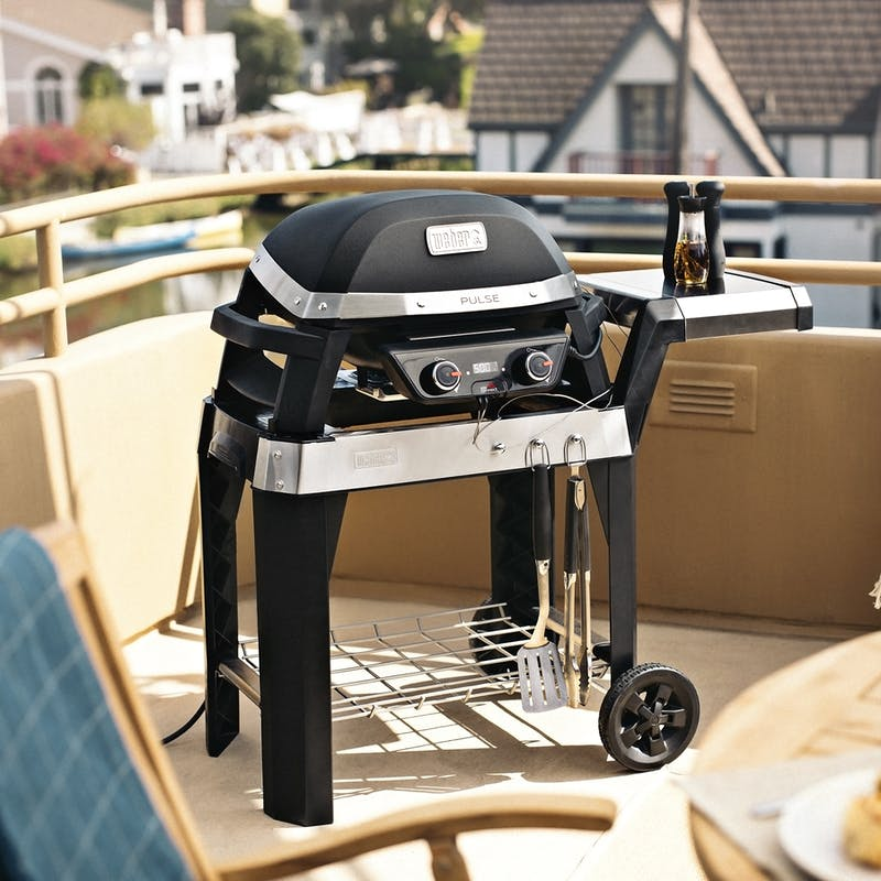 Pulse 2000 Electric Grill with Cart image number 3