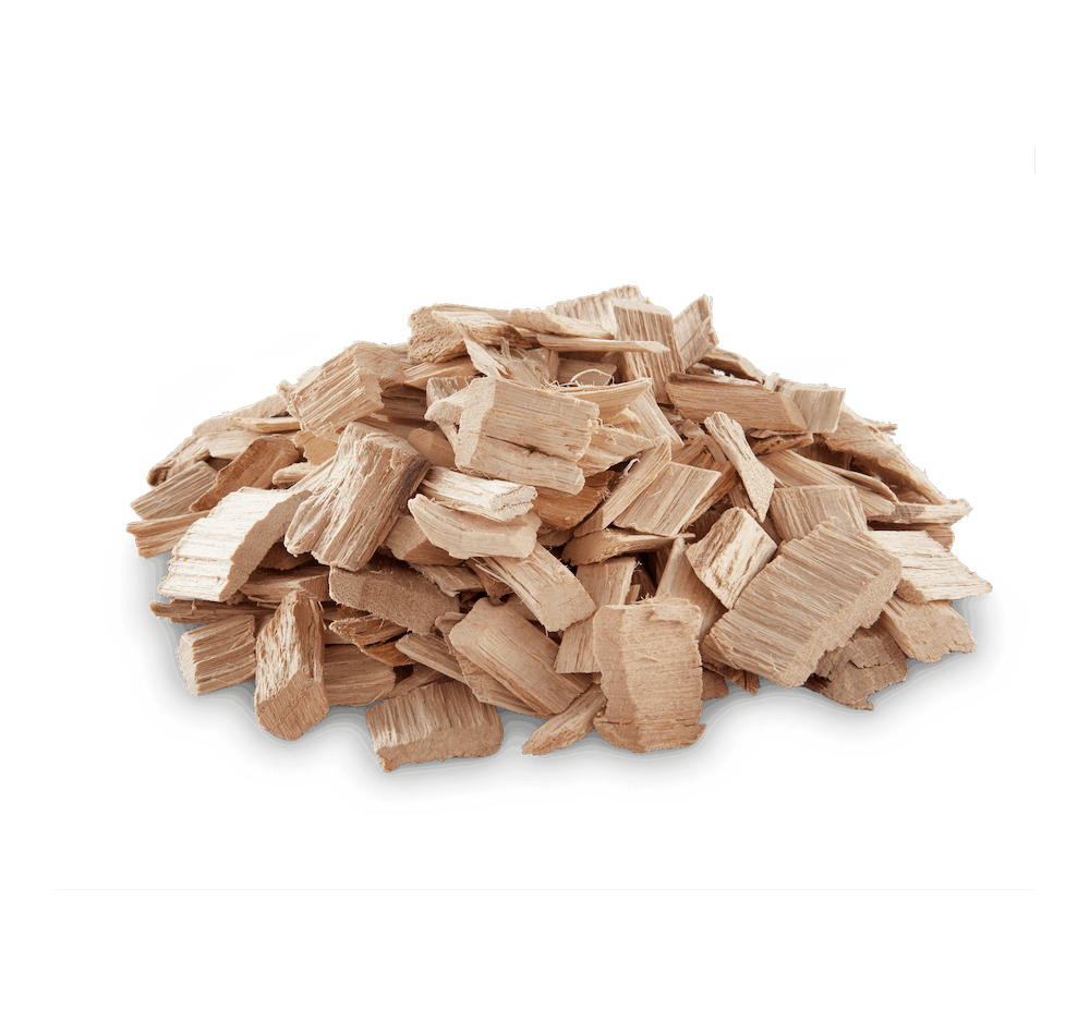 Pecan Wood Chips View