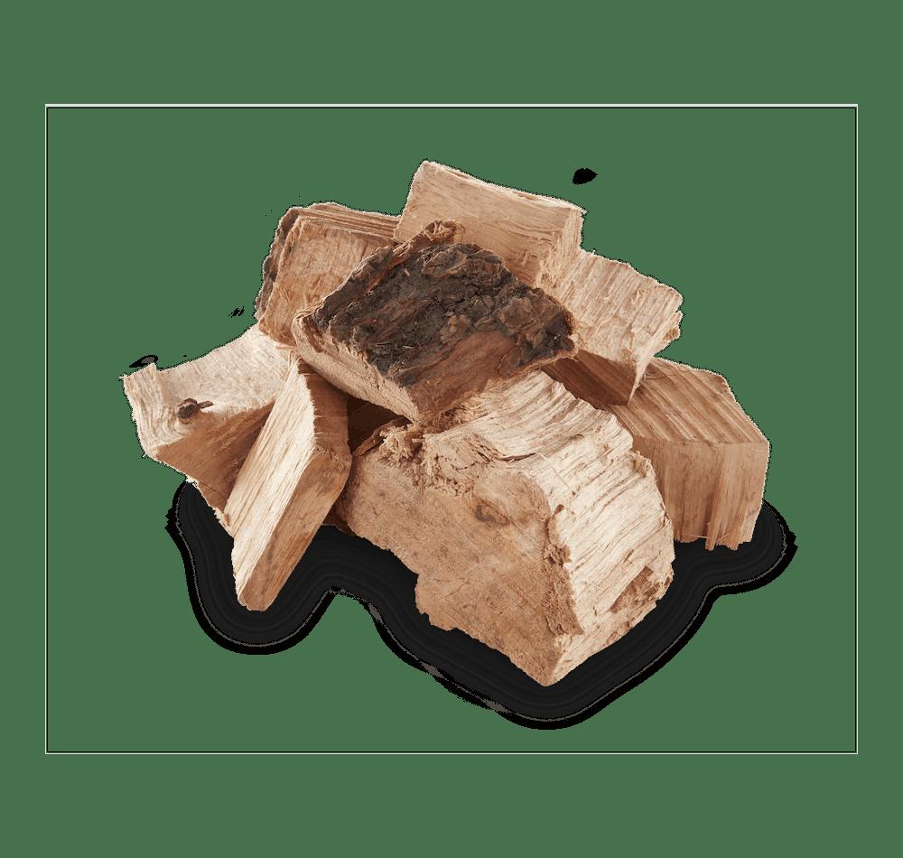 Pecan Wood Chunks View