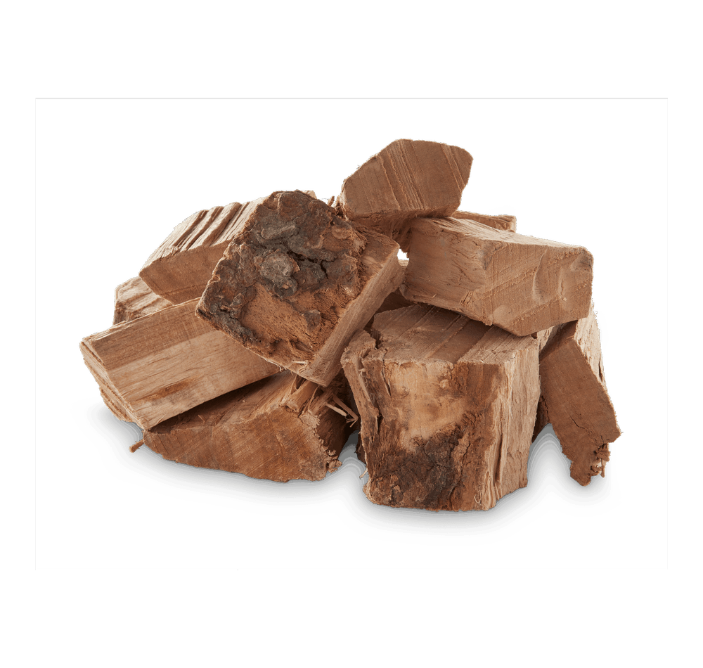 Cherry Wood Chunks View