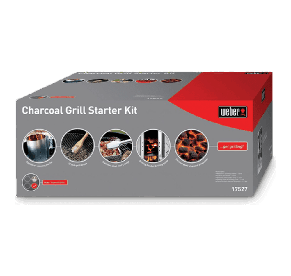 Charcoal Grill Starter Kit View