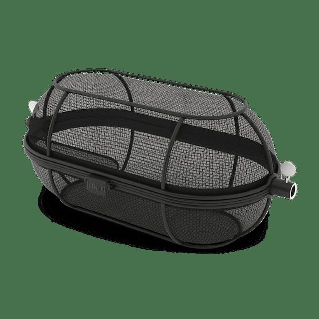 Tiheäverkkoinen premium-grillivarraskori