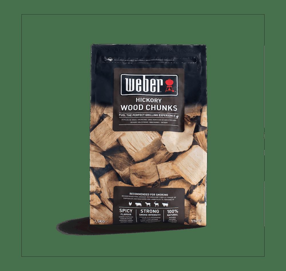 Hickory Wood Chunks image 1